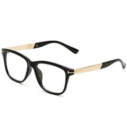 Wholesale Eyeglasses Frame Male - Eyeglass Frames For Men Eye Glasses Women Spectacle Mens Optical Fashion Ladies Clear Glasses Vintage Designer Eyeglasses Frame 2C2J02