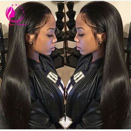 "Wholesale long parted wigs - 30""Long U Part Human Hair Wigs Virgin Peruvian Silky Straight U Part Wig Unprocessed Human Hair With Baby Hair For Black Women"