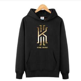 Wholesale Basketball Fleece - Kyrie Irving Men's Basketball Hoodies Sweatshirts Jumpers hip hop Sports Coats Mens Long Sleeve Pullovers killer cross over hoodies