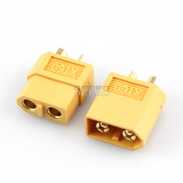 Wholesale Male Bullet Connectors - 1 Pairs Amass XT60 XT60U XT60H Male Female Bullet Connectors Plugs For RC Lipo Battery FPV Quadcopter Kit Drone Parts