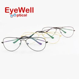 Wholesale bridge sale - Wholesale- hot sale unisex fashion optical frame high quality eyewear classic double bridges eyeglasses