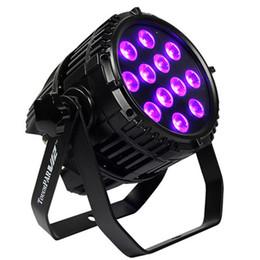 Argentina Envío gratis iluminación colorida DMX RGBW 4in1 con pilas Par LED 12x10W al aire libre LED inalámbrica par puede Suministro