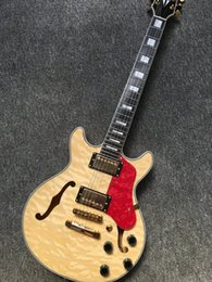Wholesale Jazz Guitars Natural - Free Shipping 2017 New ES-339 Small Jazz Electric Guitar es 339 natural color body In Sunburst ES339 Top Quality
