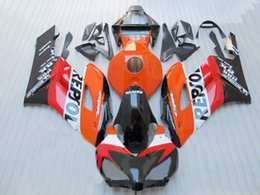 Wholesale Buy Fairings - New Injection High quality ABS Motorcycle Fairing Kit 100% Fit For HONDA CBR1000RR 2004 2005 CBR1000 04 05 Bodywork set nice buy repsol