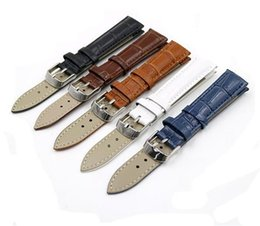 Wholesale Watch Tan Band - Hot selling wholesale prices fashion multi color slub embossed classic genuine leather watch band bamboo pattern watch strap 12mm-24mm