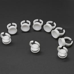 припой Скидка 100 шт. / пакет небольшой средний большой размер одноразовые пигментные кольца чашки пластиковые татуировки чернила чашки для перманентного макияжа