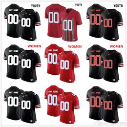 d889e9d18 ... Customize Personality Men Women Youth Ohio State Buckeyes College  Football Jersey Embroidery Stithced Custom Any Name ...
