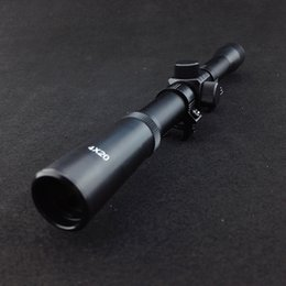 Wholesale Telescopic Scopes - High Quality Telescopic Scope Optical sight Hunting Sight for 4x20 Riflescopes Hunting for 22 Caliber Rifles and Airsoft Guns