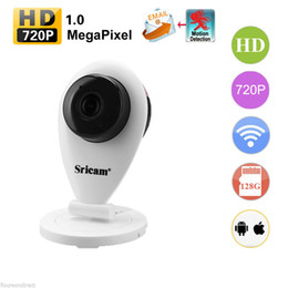 Wholesale High Quality Baby Monitor Wireless - 2017 Wholesale & Retail High Quality 720P Smart Home HD Wireless Web Camera WIFI Monitor Camera Baby Monitor + Computer Peripherals (White)