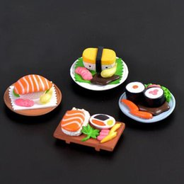 Wholesale Art Assembly - 2017 new Sushi scene doll micro - landscape cartoon cute ornaments ornaments DIY assembly materials small ornaments toys