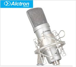 karaoke del microfono del mp3 Sconti New Alctron um100 Microfono di registrazione professionale Pro USB Condenser Microfono Microfono da studio per studio