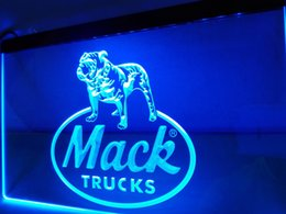 Wholesale Truck Yellow Lights - LG138b- Mack Trucks LED Neon Light Sign