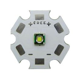 Wholesale Cree Star - Wholesale- 10pcs lot 3W Original CREE XP-E R3 White 6000K~6500K 220LM LED light lamp With 20mm Star Base