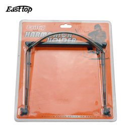Wholesale Mail Holders - Wholesale-Quality goods bag mail EASTTOP east of the 24 hole harmonica tremolo harmonica holder stress can be adjusted