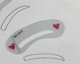 3 pcs / ensemble Eye Brow Modèle Pochoir Set Sobrancelha Modèle Pochoirs Kit Sourcils Façonnage Diy Molde Para Sombrancelha fard à paupières ? partir de fabricateur