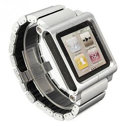 Wholesale Nano Generation - Wholesale-2016 New Aluminum Multi-Touch Wrist Strap Watch Band for iPod Nano 6th generation