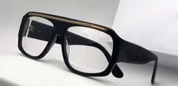 Wholesale Hinge Boxes - Classic vintage optical glasses oversized square design framework top quality transparent lens with original box 1573
