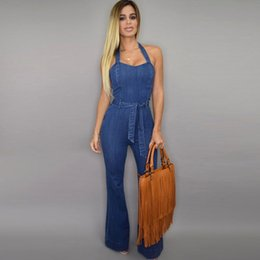Canada Wide Leg Denim Jumpsuit Supply, Wide Leg Denim Jumpsuit ...