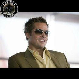 Wholesale Super Polarized Sunglasses - Oliver Peoples 2017 New hot selling Original eyewear brand golden sunglasses fashion Pilot eyeglasses super star sun glasses STRUMMER-T