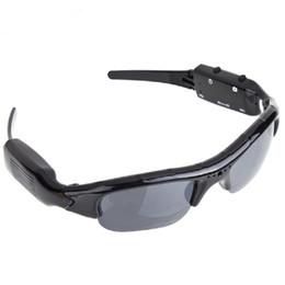 Wholesale Minidv Recorders - 720P Sunglass Exclusive Digital Audio Video mini Camera DV DVR Sunglasses camo Sport Camcorder Recorder For Sports Free shipping