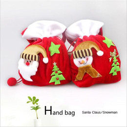 Wholesale professional christmas gifts - Professional Santa Bag Christmas Bag VANORIG Cute Christmas Gift Bag Santa Sack high quality fabric to decorate free shipping