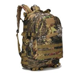 Wholesale Waterproof Molle Backpack - 40L Molle 3D Military Backpack Men Women Travel Bags Waterproof Attract Daypack
