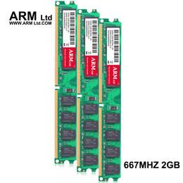 Wholesale Ddr2 2gb Ram For Desktop - ARM Ltd DDR2 2GB 667Mhz 800Mhz For AMD memory CL5-CL6 1.8V DIMM RAM 667 2G 4GB 800 Only used AM2 Motherboard Lifetime Warranty