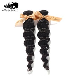 Wholesale Mocha Loose Wave - Wholesale-Mocha Hair Products Virgin Hair Brazilian Loose Wave,100% Human 2pcs lot,Grade 8A,Unprocessed Hair