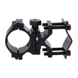 Wholesale Laser Sights For Rifles - Universal Mounting Adapter For Flashlight Laser Torch Viewfinder Hunting Rifle Optical Sight Bracket Holder free shipping