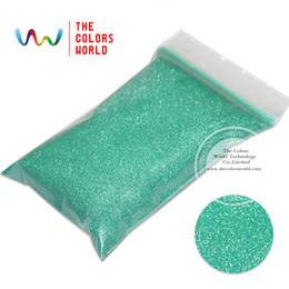 Wholesale Pearlescent Gel - Wholesale- TCP07 Pearlescent Light Green Colors 0.2MM 008 Size Solvent Resistant Glitter for nail gel nail polish or Other art Decoration