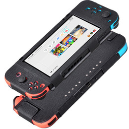Wholesale free nintendo - High Quality Anti-slip Soft PU Leather Protective Cover Cases for Nintendo Switch 6.2 Inch 2017 Free Shipping DHL.