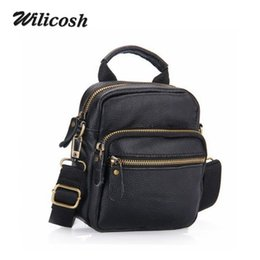 Wholesale Special Offer New Genuine Leather Men s Messenger Bags Men Crossbody Bag High Quality Men s Travel Bags School Bags DB4707