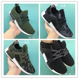 Wholesale Duck Racing - wholesale NMD runner R1 PK boost high quality human race man&woman running shoes NMD XR1 Duck Camo athletic boost shoes free shipping