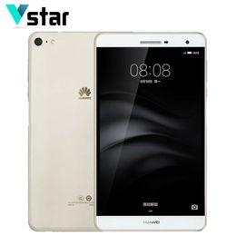 "Wholesale Sensor Side - Wholesale- HUAWEI M2 Lite PLE-703L 7.0"" 4G LTE Phone Call Tablet Snapdragon 615 Octa Core Side Fingerprint 3GB RAM 32GB 16GB ROM 13.0MP"