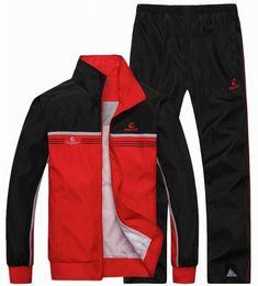 Wholesale Turtle Neck Sweatshirts - Spring and Autumn Outdwear Tracksuits Men sportswear sweatshirt + Pants 2 Pcs Suits Long sleeves Running Sets men Plus Size 4XL