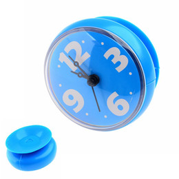 Wholesale Waterproof Wall Clocks - Wholesale-Waterproof Bathroom Bath Shower Wall Clock with Suction Cup
