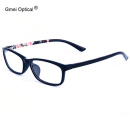 49b2288980f Wholesale- Hot Ultralight Square College TR90 Glasses Frame Women Men Brand  Designer Myopia Hyperopia Optical Eyeglasses Frame Five Colors