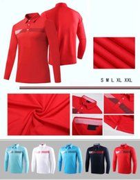 Wholesale Sport Fit Shirts - 2017 Ti New golf T-Shirt long Sleeve men's Autumn dry fit breathable sports shirts 5 colors OEM available