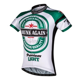 Wholesale Different Shirt - 2017 men's cycling jersey each rider is different bike jersey green white cycle clothing jerseys cool shirt unique bicycle wear