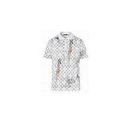 Wholesale giraffe sleeve - Top Design New Giraffe Print Polo Shirt Men Cotton Fashion Camisa Polos Summer Short sleeve Casual Shirts White XXXL