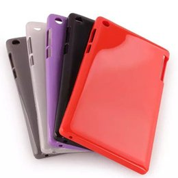 Wholesale Tab Gel - Wholesale-Soft Silicon Rubber TPU Gel Case For Lenovo Tab 2 A7 30 A7-30 A7-30HC A7-30TC A7-30DC Back Cover Tablet Ultra Slim Shell Fundas