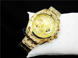 Wholesale Gold Watch Quartz Mens - No pendulum AAA top quality New Mens Sports EF-550RBSP-1AV Chronograph Dial Watch EF-550RBSP-1AV Gent Wristwatch Second Stopwatch Function