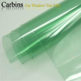 Wholesale Tinted Film For Car Windows - Wholesale- Light Green window tint solar film for car side windshield 0.5*3m