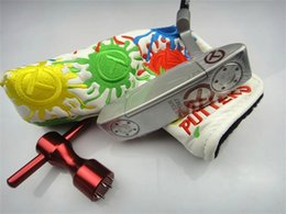 Wholesale Cnc Ship - Free DHL Fast Shipping CNC Putter New 2017 Concept 2 Red Cricle T For Tour Use Only Putter With Headcover And Wrench Cheap Golf Putter