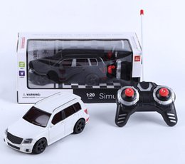 Wholesale Value Promotions - Promotion wholesale value of children special offer remote control car remote control simulation of car electric toy car 1:20.