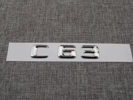 Canada Insigne de l'emblème arrière du tronc lettres C 63 chromé pour Mercedes Benz C63 AMG Offre