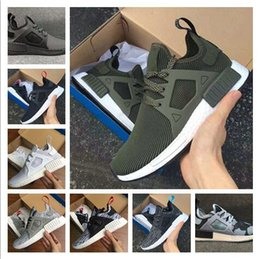 Wholesale Quality Net - 2017 New Arrival XR1 Boost Duck Camo Navy White Army Green for Top quality MND III Net Surface Running Shoes Size 36-45