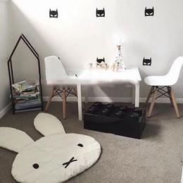 Wholesale Carpets Rabbit - .Soft Baby Padded Play Game Mats Rabbit Crawling Blanket Floor Carpet Kids Room Hot Children Round Rugs Creeping Mat Large 106*68CM WD060