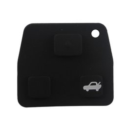 Wholesale Lexus Remote Cover - 2 3 Button Car Remote Car Key Fob Rubber Pad Stying Cover For Toyota  Avensis  Corolla  Lexus  Rav4