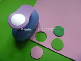 Wholesale Craft Foam Circles - Wholesale- free shipping 1 inch (2.5cm) circle design craft punch eva foam punch perfurador de EVA scrapbooking cutter paper punches